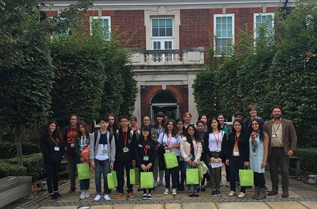Students at APHA Weybridge