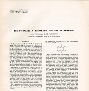 Image of a scientific paper co-written by Katherine Sanderson