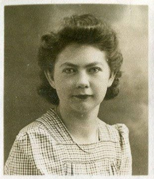 Gwyneth Lewis, date likely 1945