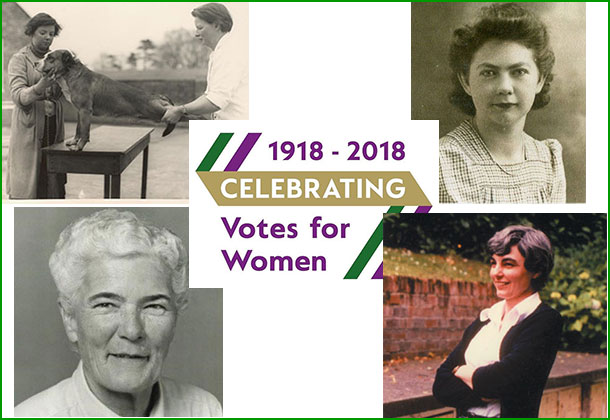 Votes for women feature image for 1950s and 1960s blog